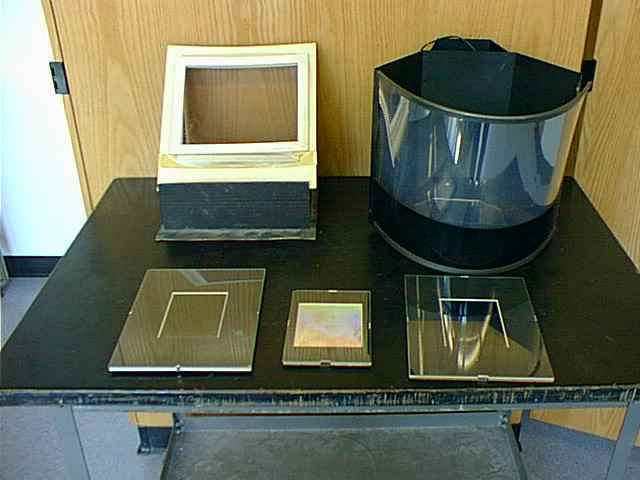 These Are Examples Of Holograms Of Different Types That