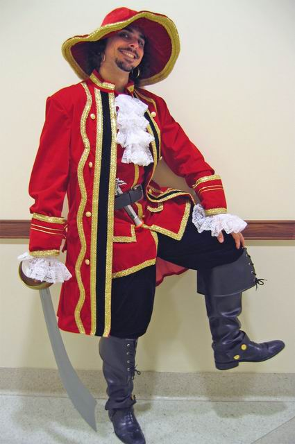 Ethan as Captain Morgan