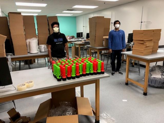 Lab kit assembly