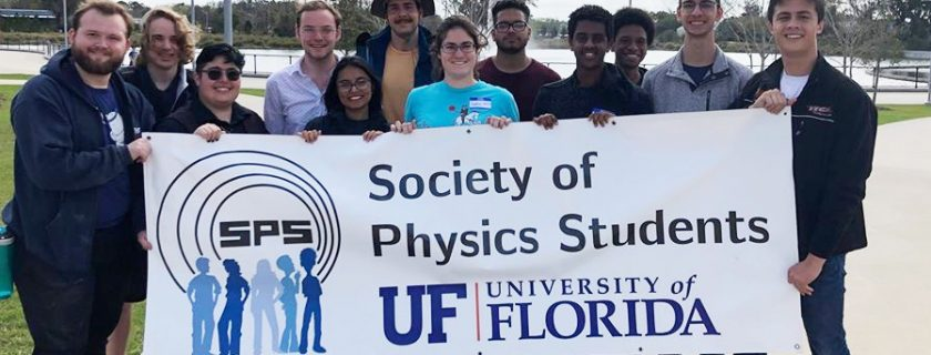 Society of Physics Students (SPS) recognized as Outstanding Chapter