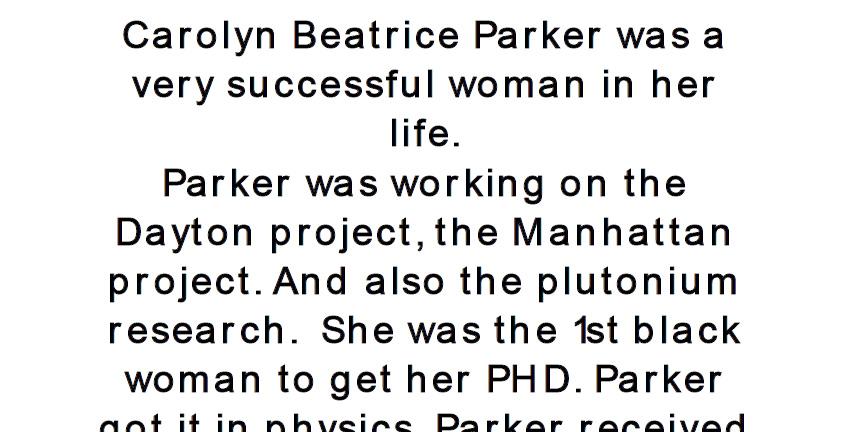 Parker Project 11